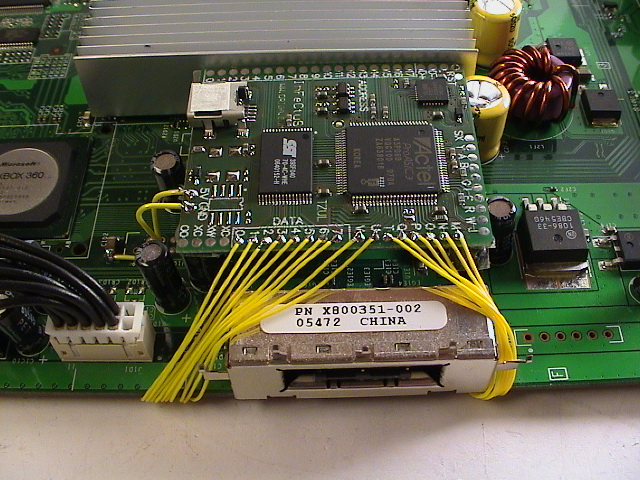 Infectus_Microchip_Installed_Top Xbox Efuse on ps3 vs, halo reach, custom controllers, slim 250gb, slim console, games list,