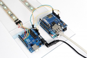 LED Bandwidth Monitor arduinos.jpg